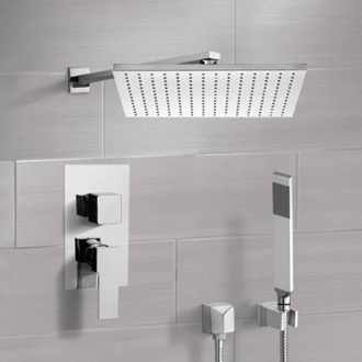 Shower System with 12