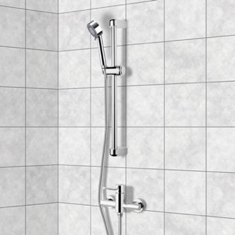 Chrome Slidebar Shower Set With Multi Function Hand Shower Remer SR008