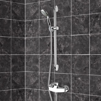 Chrome Slidebar Shower Set With Multi Function Hand Shower Remer SR027