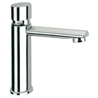 Bathroom Faucet Chrome Plated Brass Temporized Tap Remer TE22US