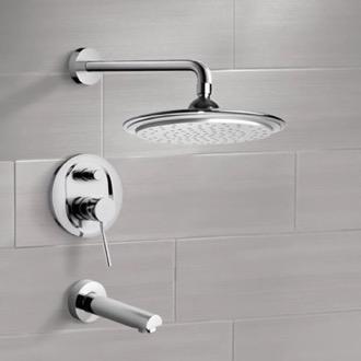 best shower faucet sets. Tub and Shower Faucet Chrome Sets with 9 Shop for Luxury Showers  TheBathOutlet com