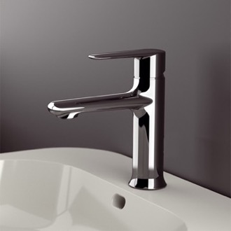 Bathroom Faucet Chrome Round Bathroom Sink Faucet Remer V11