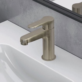 Brushed Nickel Single Hole Bathroom Faucet Remer W11USNL-NB