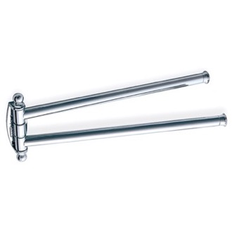 Swivel Towel Bar 14 Inch Brass Swivel Double Towel Bar 185 StilHaus 185