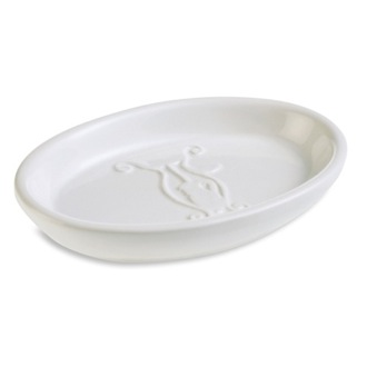Soap Dish White or Colored Oval Ceramic Soap Dish 546 StilHaus 546