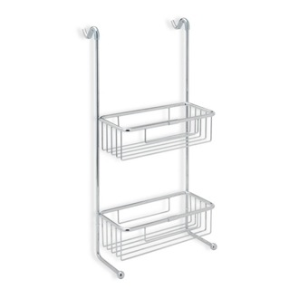 Shower Basket Over-the-Door Chrome Wire Double Shower Basket 785 StilHaus 785
