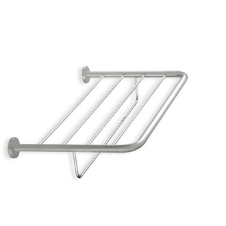 Wall Mounted Satin Nickel Towel Rack StilHaus 786-36