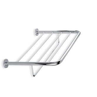 Wall Mounted Chrome or Satin Nickel Towel Rack StilHaus 786