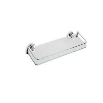 Clear Glass Bathroom Shelf StilHaus 819