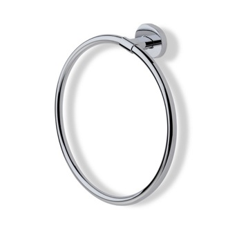 Towel Ring Chrome or Satin Nickel Circle Towel Ring DI07 StilHaus DI07