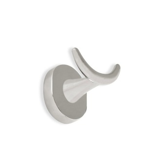 Satin Nickel Double Robe Hook StilHaus DI809-36