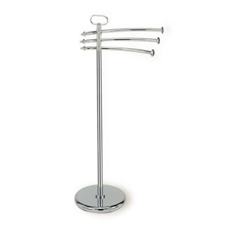 Towel Stand Free Standing Classic-Style Brass Towel Stand StilHaus EL19