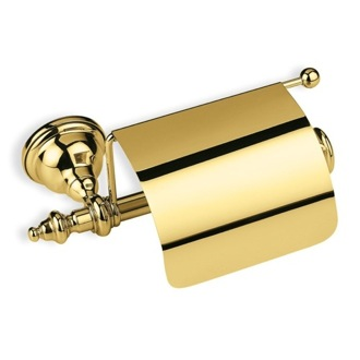 Toilet Paper Holder Gold Classic Style Toilet Paper Holder StilHaus EL11c-16