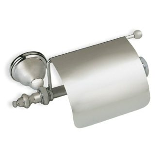 Satin Nickel Classic Style Toilet Paper Holder StilHaus EL11c-36