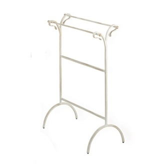 Towel Stand Free Standing Classic-Style Brass Towel Holder F25 StilHaus F25