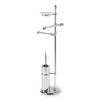 Bathroom Butler Free Standing Classic-Style 4-Function Bathroom Butler G697 StilHaus G697