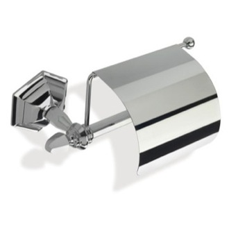 Toilet Paper Holder Decorative Wall Mounted Toilet Roll Holder with Cover MA11C StilHaus MA11C