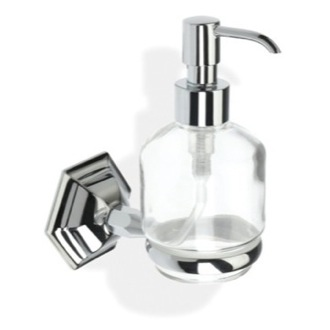 Soap Dispenser Wall Mounted Crystal Glass Liquid Soap Dispenser MA30 StilHaus MA30