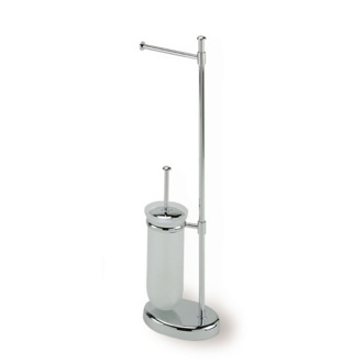 Bathroom Butler Free Standing Chrome 2-Function Bathroom Butler P20-08 StilHaus P20-08
