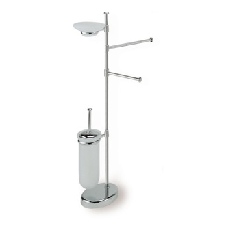 Bathroom Butler Free Standing Chrome 4-Function Bathroom Butler P21-08 StilHaus P21-08