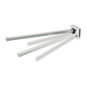 Swivel Towel Bar 13 Inch Swivel Double Towel Bar U16 StilHaus U16
