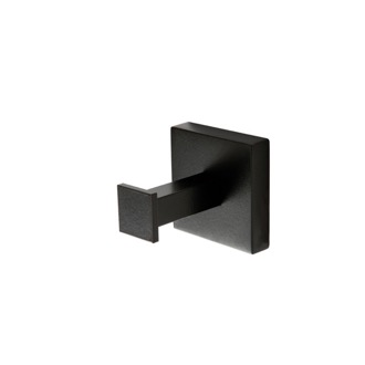 Bathroom Hook Wall Mounted Matte Black Hook U10-23 StilHaus U13-23