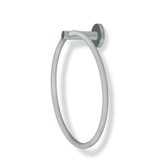 Round Satin Nickel Towel Ring StilHaus VE07-36