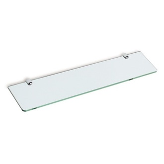Bathroom Shelf Square 24 Inch Clear Glass Bathroom Shelf Z04 StilHaus Z04
