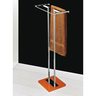 Towel Stand Free Standing Towel Stand with Plexiglass Base 4577 Toscanaluce 4577