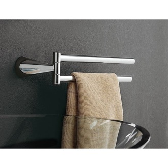 Swivel Towel Bar 14 Inch Chrome Double Arm Swivel Towel Bar 5519 dx/sx Toscanaluce 5519 dx/sx