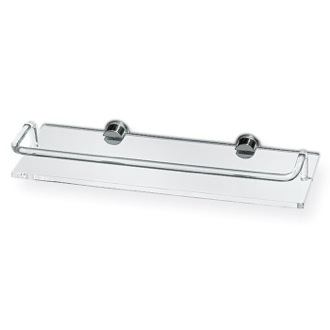 Bathroom Shelf Plexiglass 22 Inch Bath Bathroom Shelf With Railing 613 Toscanaluce 613