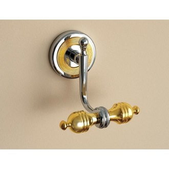 Bathroom Hook Classic-Style Double Robe or Towel Hook 6504 Toscanaluce 6504