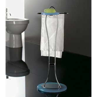 Bathroom Butler Free Standing 2-Function Bathroom Butler with Plexiglass Base 894 Toscanaluce 894