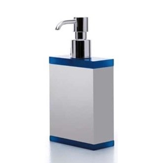 Soap Dispenser Rectangular Plexiglass Soap Dispenser Available in Multiple Finishes A063 Toscanaluce A063