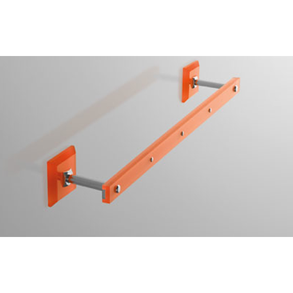 Towel Bar Plexiglass 14 Inch Towel Bar with Plexiglass Wall Mounts G307 Toscanaluce G307