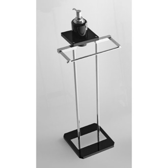Bathroom Butler Free Standing Bathroom Butler with Plexiglass Base Toscanaluce G374