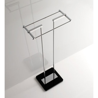 Towel Stand Free Standing Towel Stand with Plexiglass Base G377 Toscanaluce G377