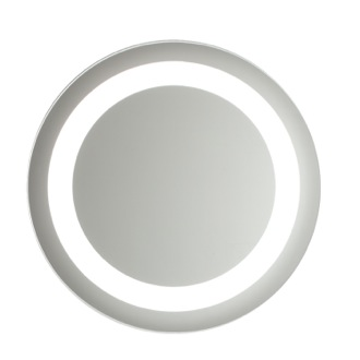 Vanity Mirror Large Circular Lighted Mirror 0060-708S Vanita And Casa 0060-708S
