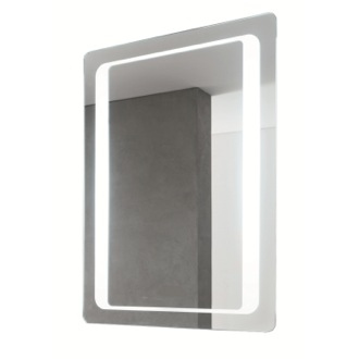 Vanity Mirror 24 x 32 Inch Illuminated Vanity Mirror 8060-701S Vanita And Casa 8060-701S