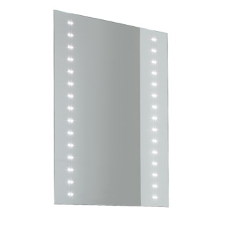 24 x 32 Inch Illuminated Vanity Mirror Vanita And Casa 8060-707S