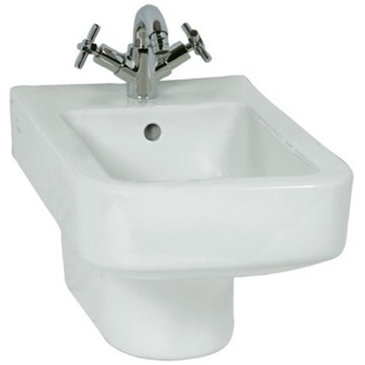 High-end Contemporary Square Ceramic Wall Hung Bidet Vitra 4329-003-0288