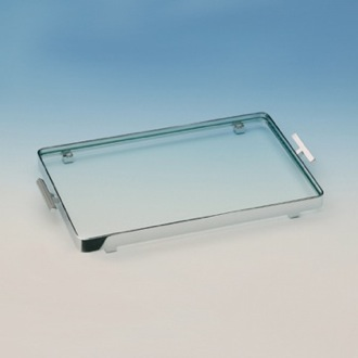 Bathroom Tray Rectangular Clear Crystal Glass Bathroom Tray 51420 Windisch 51420