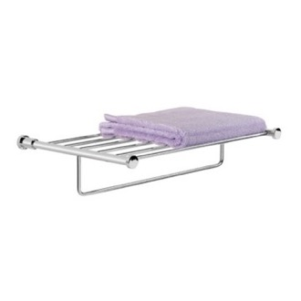 Train Rack 19.5 inch Towel Rack or Towel Shelf with Towel Bar Windisch 85460