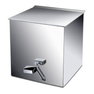 Waste Basket Brass Square Waste Bin With Cover 89184 Windisch 89184