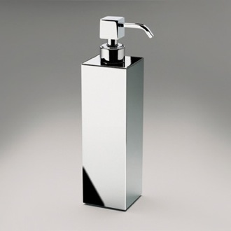 Soap Dispenser Tall Squared Brass Countertop Soap Dispenser Windisch 90418