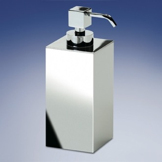 Soap Dispenser Square Contemporary Brass Soap Dispenser Windisch 90419