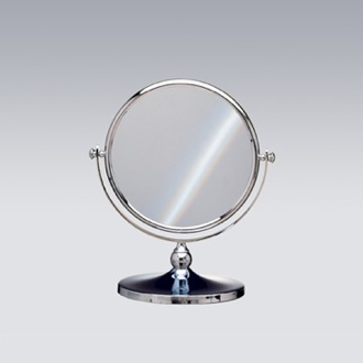 Double Face 3x Chrome or Gold Magnifying Mirror Windisch 99100