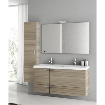 47 Inch Larch Canapa Bathroom Vanity Set