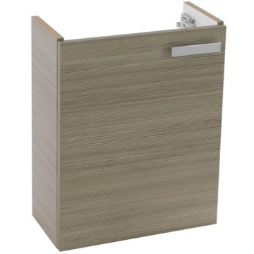 18 Inch Wall Mount Larch Canapa Bathroom Vanity Cabinet