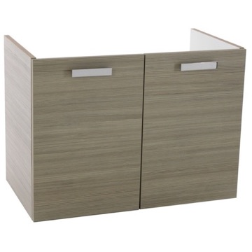 30 Inch Wall Mount Larch Canapa Bathroom Vanity Cabinet